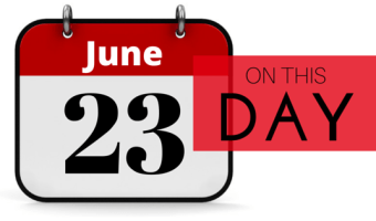 Today in History, June 23