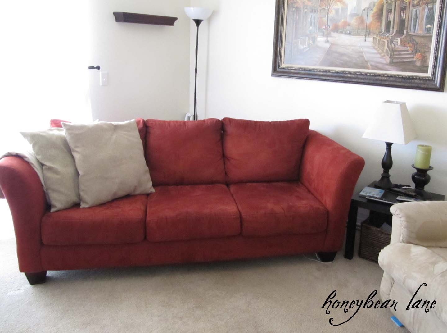 Sofa Quilting Fabric How To Make A Couch Slipcover Part 1
