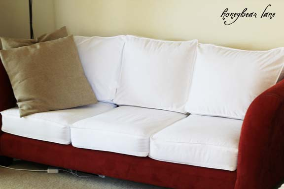 Couch Zipper Seat Covers How To Make A Cushion Cover (and Other Slipcover Tutorials)