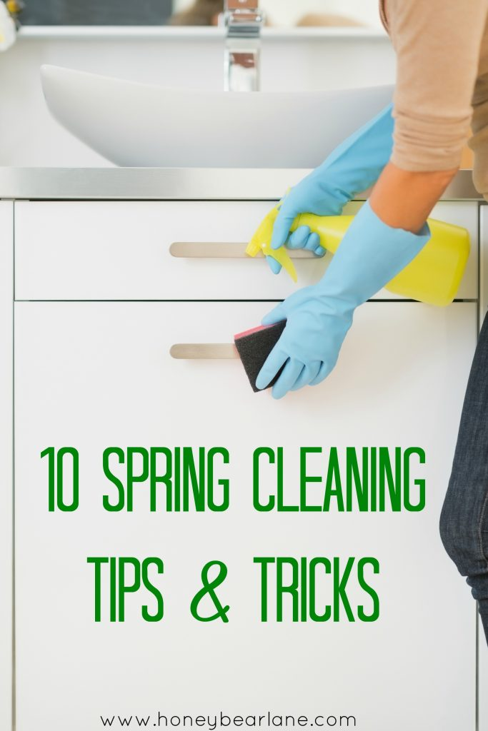 Bathroom Decor Pinterest 10 Spring Cleaning Tips And Tricks - Honeybear Lane