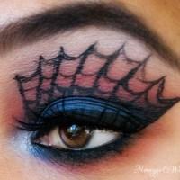 Halloween Makeup - Amazing Spiderman Inspired Makeup Look