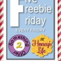 Five Freebie Friday Linky & Giveaway 2