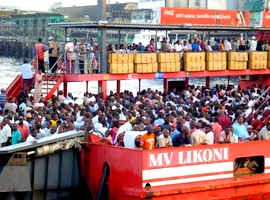 Likoni Ferry Kenya, Africa