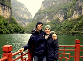 HoneyTrek on the Yangtze River Cruise China