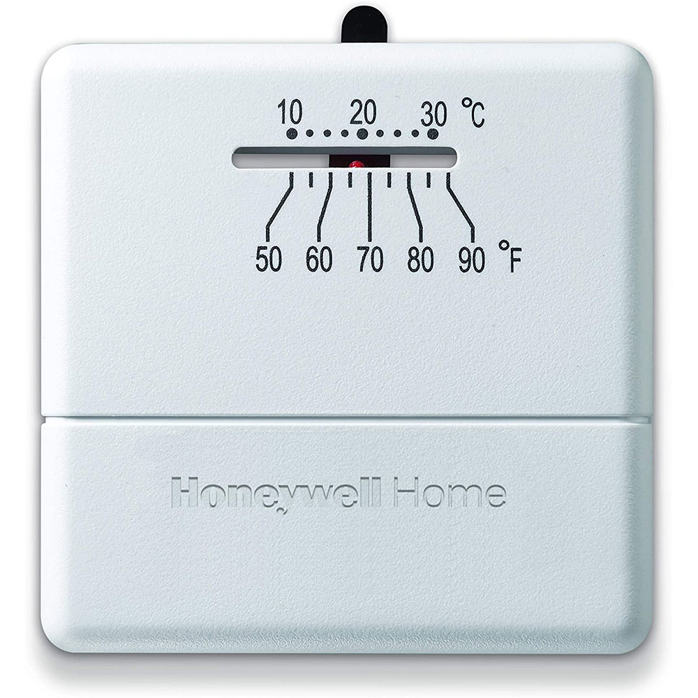 Honeywell Programmable Thermostat Honeywell Ct30a1005 Heat Only Non Programmable Thermostat