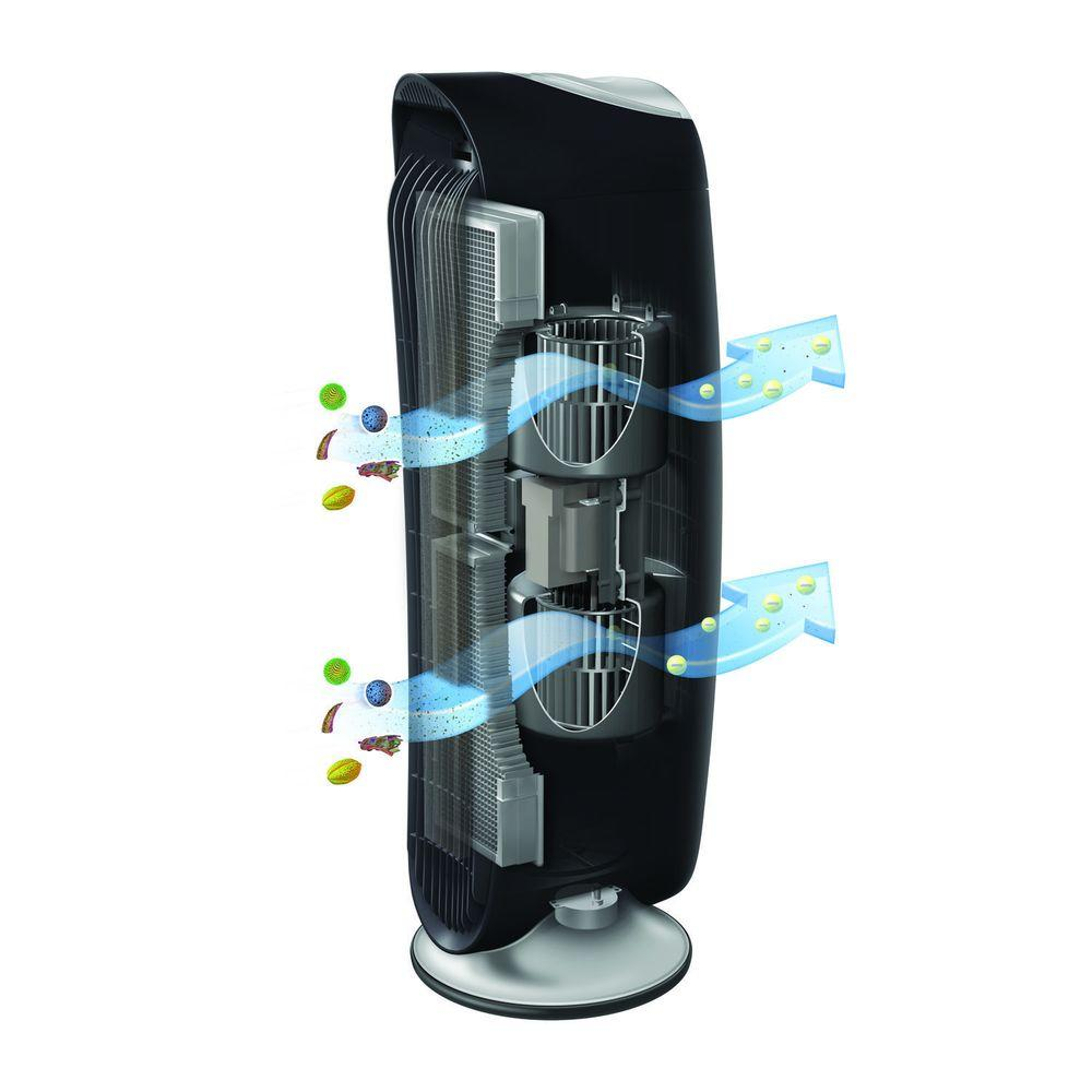 Honeywell Air Cleaner Filter Honeywell Hfd-120-q Quietclean Tower Air Purifier