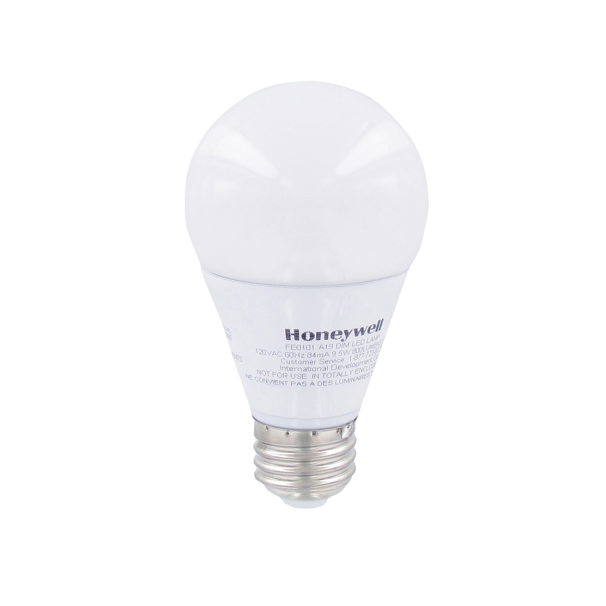 60w Light Bulb Honeywell 60w Equivalent A19 Dimmable Led Light Bulb 3 Pack Fe0101