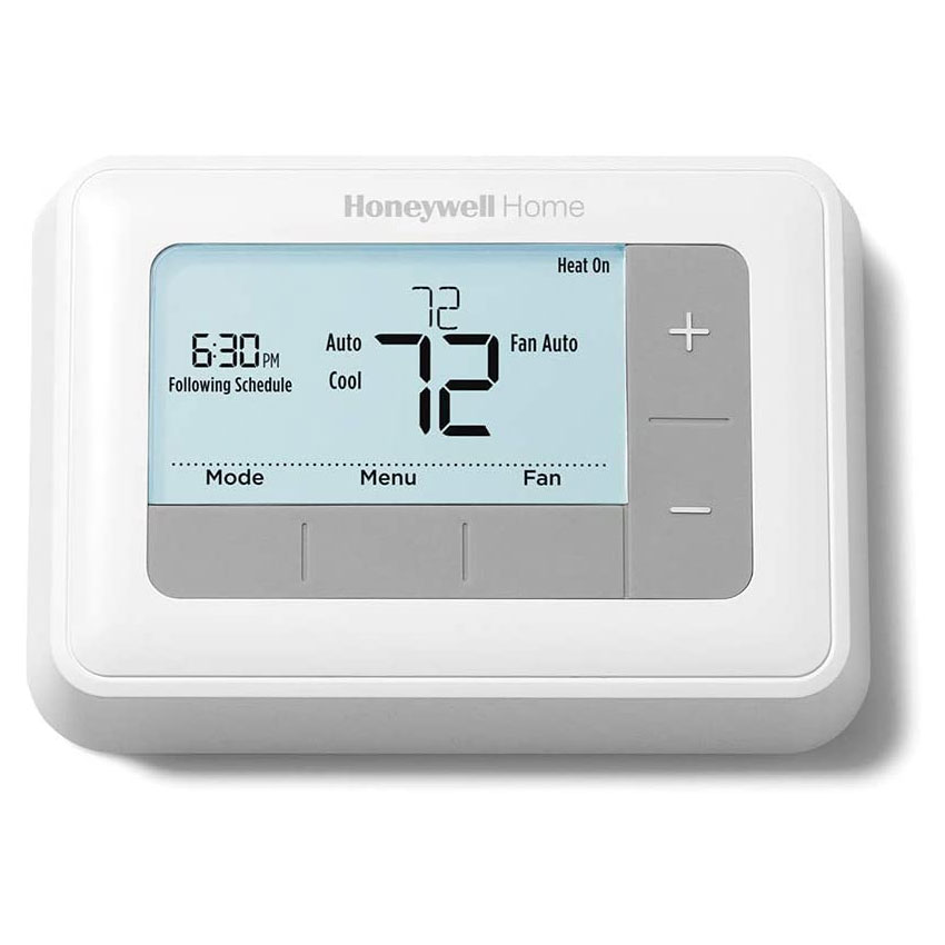 Heating Thermostat Honeywell Rth7560e Conventional 7 Day Programmable Thermostat