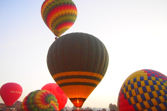 Hot Air Ballooning in Luxor, Egypt