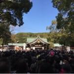 真清田神社の初詣の混雑具合と駐車場や屋台の状況