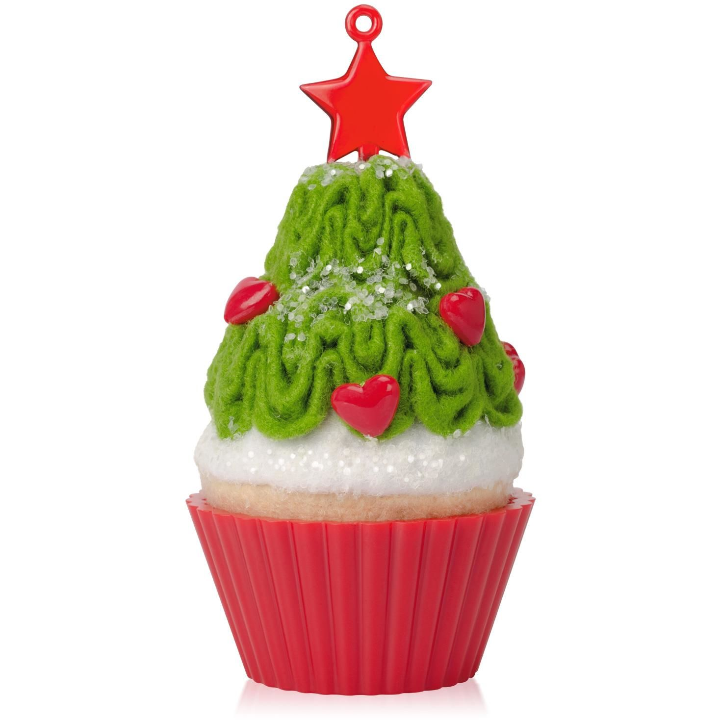 Mini Tannenbaum 2015 Christmas Cupcake Tasty Tannenbaum Hallmark Keepsake Ornament Hooked On Hallmark Ornaments