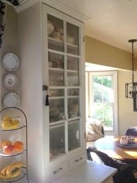 Martha's kitchen glass cabinet 2