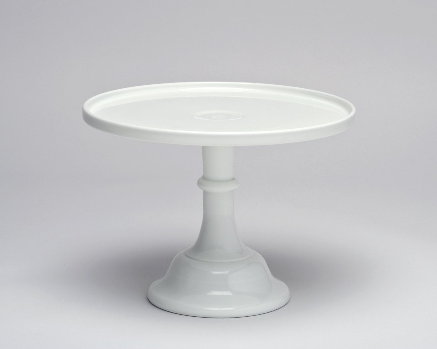White Cake Plate Pedestal. Valentine's Day Decoration