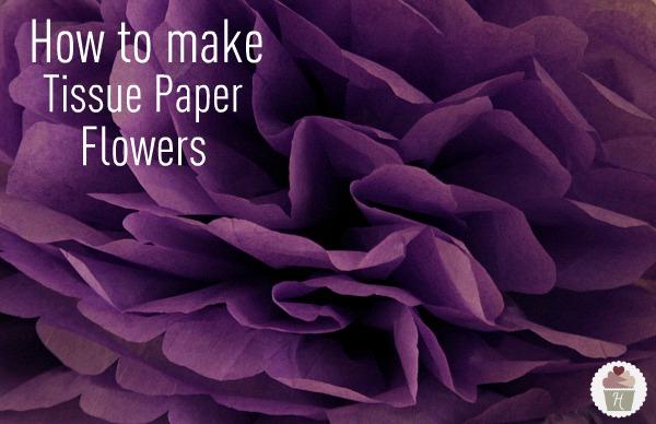 How To Make Tissue Paper Flowers Hoosier Homemade
