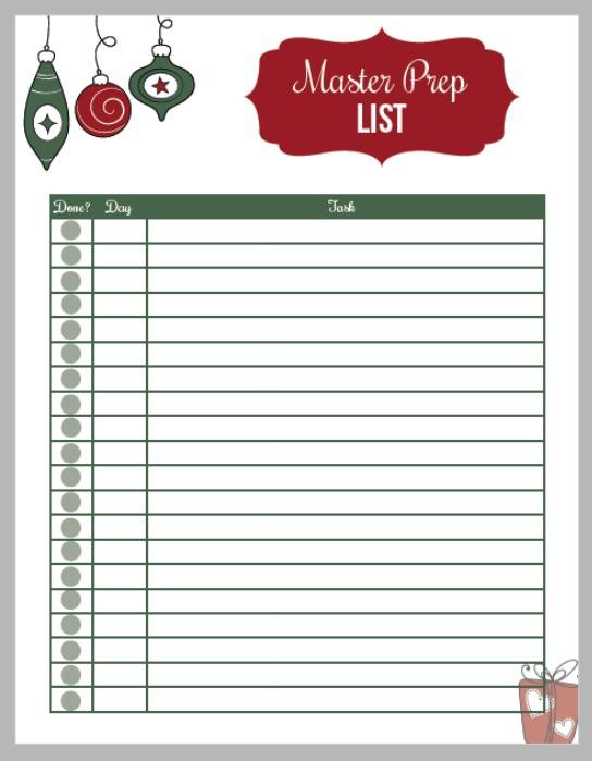 12 Days to an Organized Christmas - Hoosier Homemade