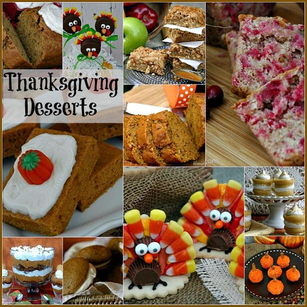 Thanksgiving Countdown Day 10 Desserts - Hoosier Homemade