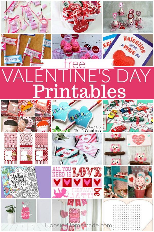 Valentine\u0027s Day Printables - Hoosier Homemade