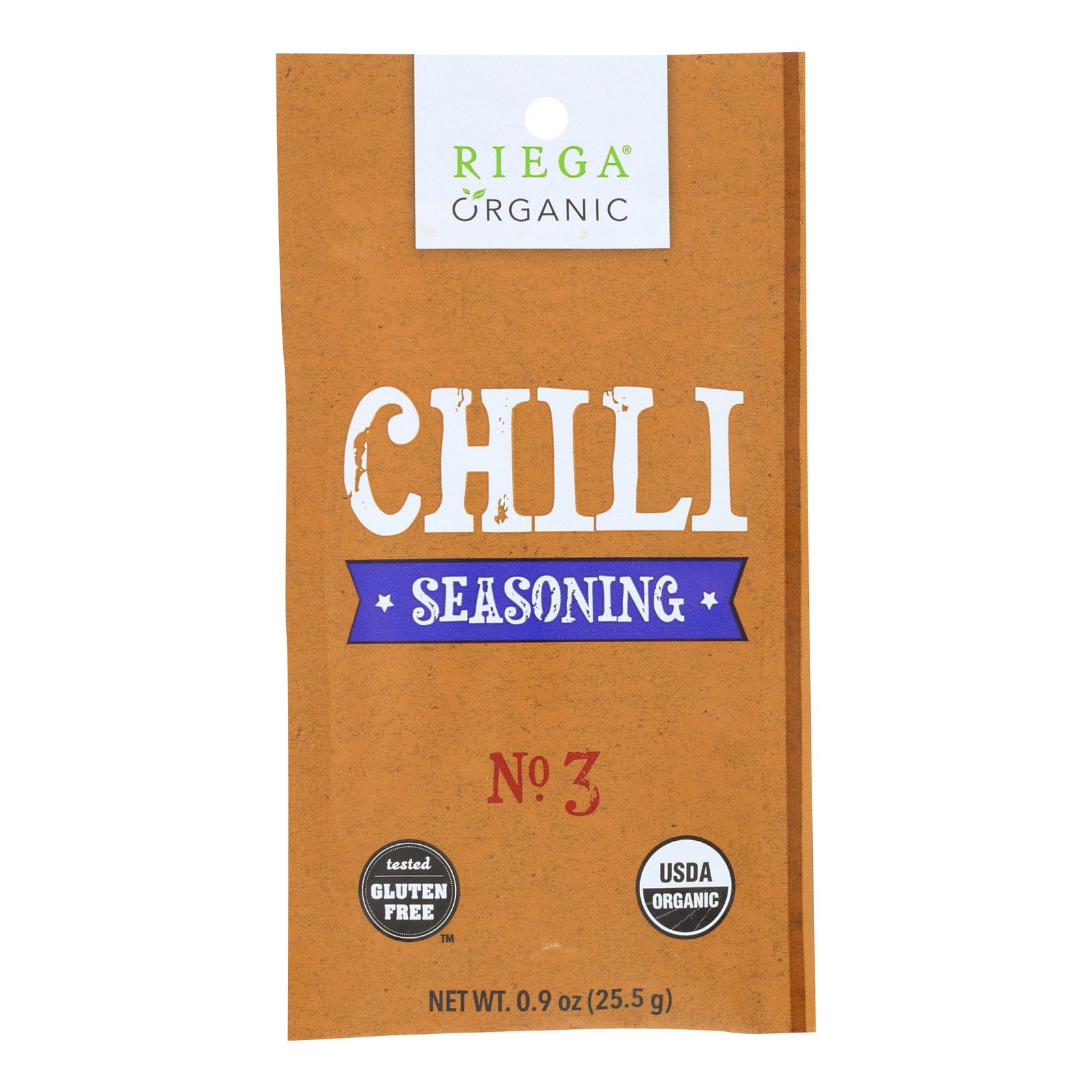 Riega Riega Foods Organic Chili Seasoning Case Of 8 9 Oz