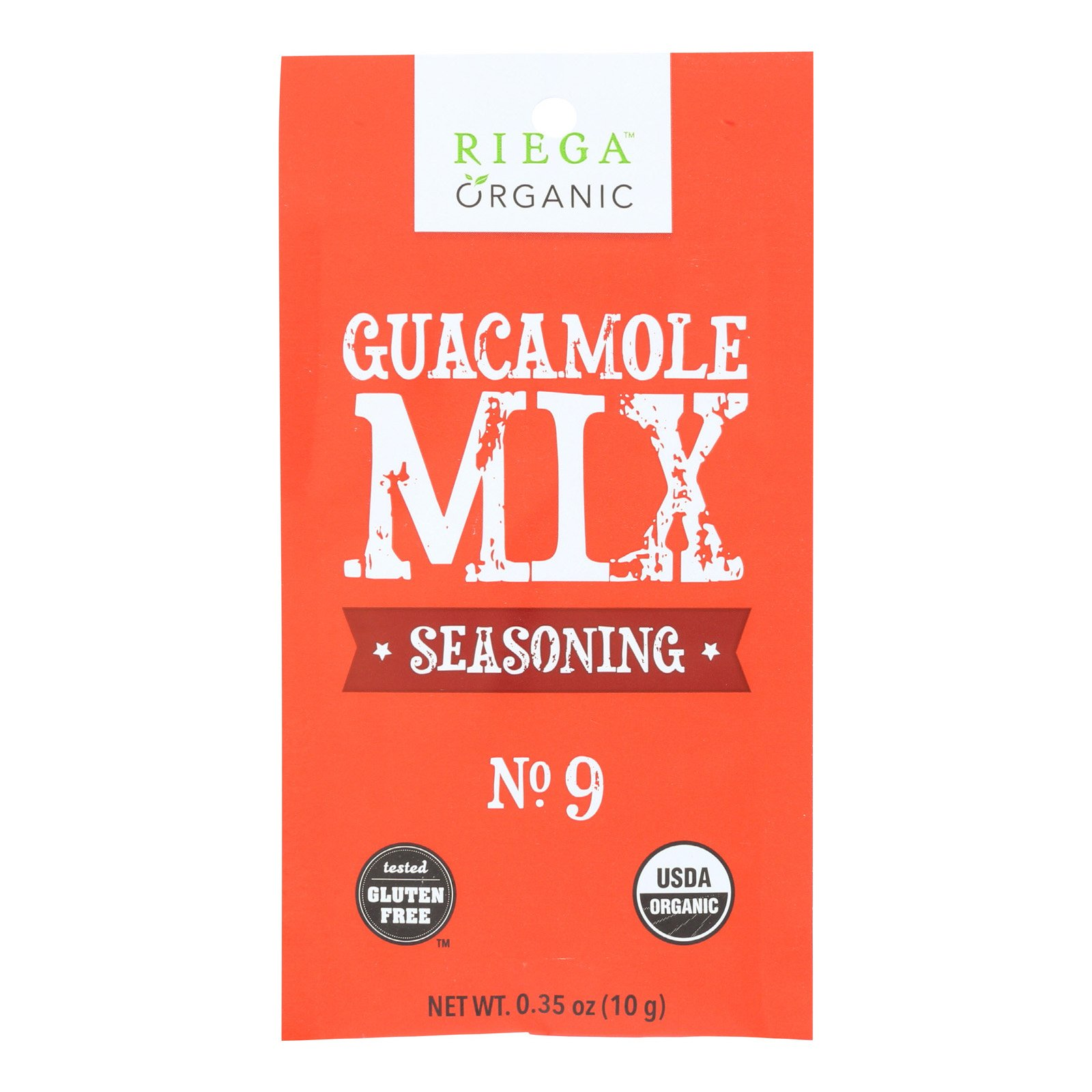 Riega Riega Foods Seasoning Guacamole Mix Case Of 8 35 Oz