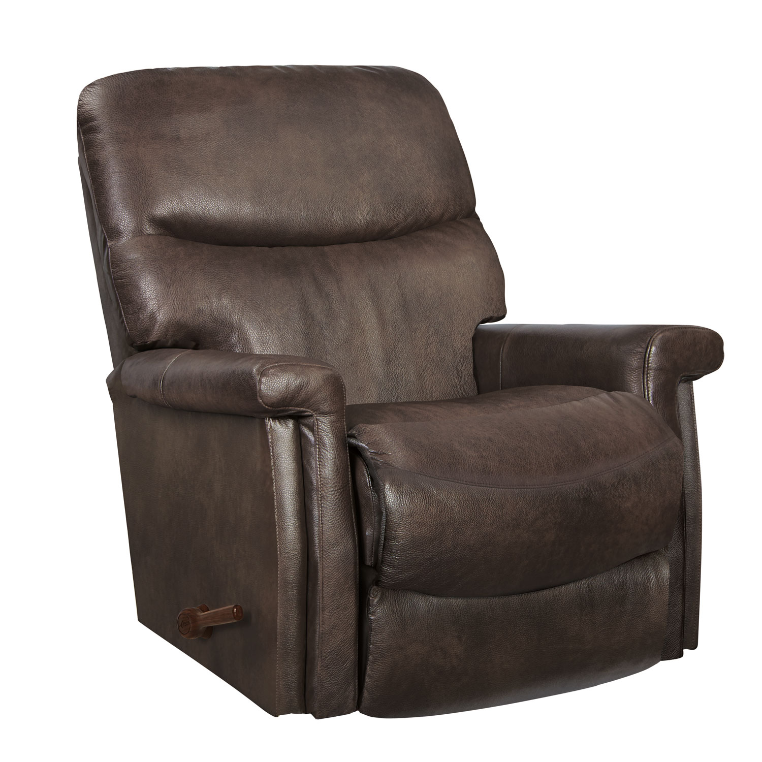 Z Chairs Sale Lazboy 10 729 Baylor Leather Rocker Recliner Hope Home