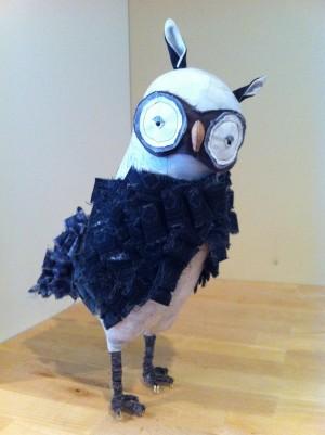 Artful Bird Owl