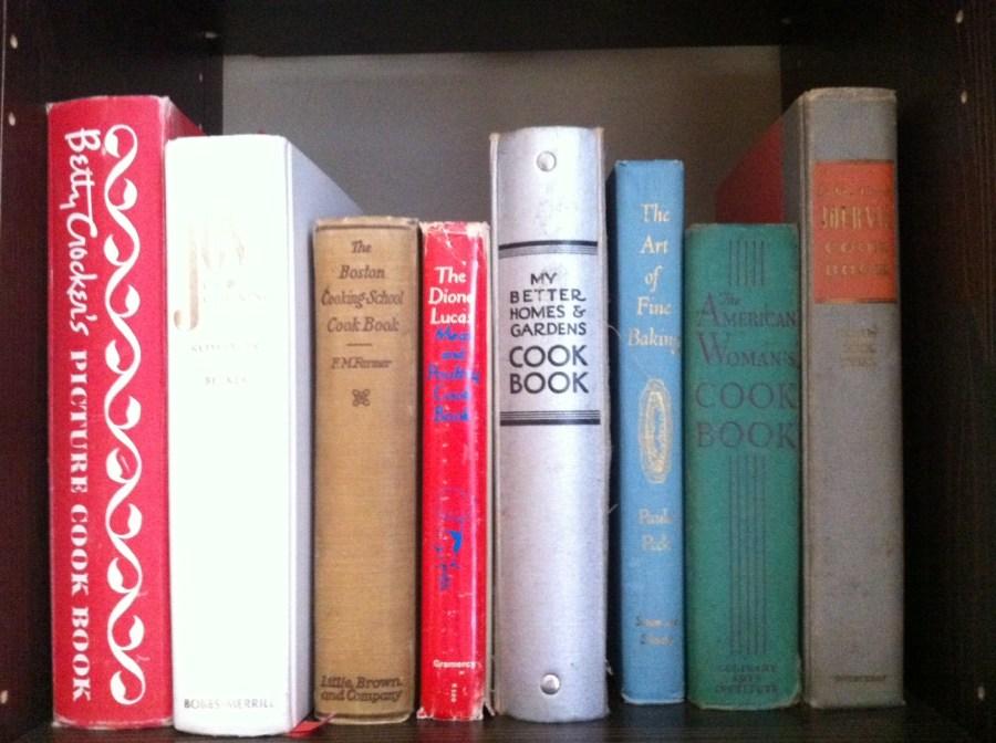 Vintage Cook Books