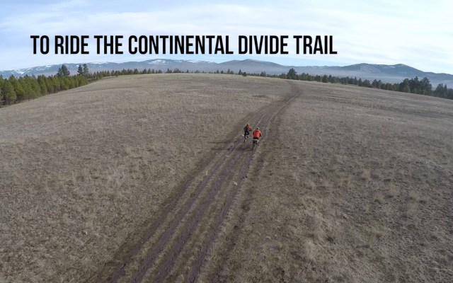 To Ride the Continental Divide with Locke and Cam