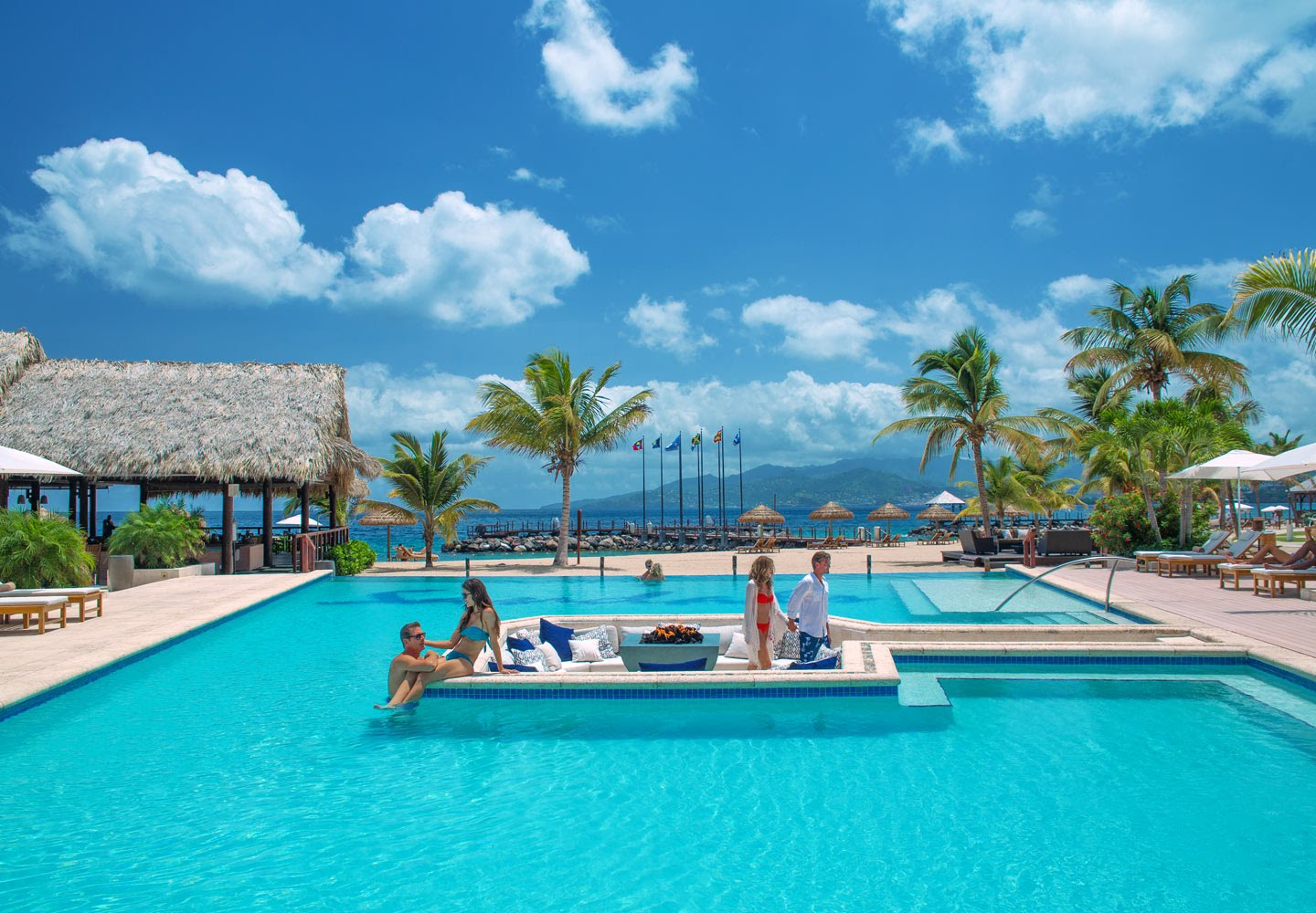 Sandals La Source Grenada All Inclusive Adult Vacations Lisa Hoppe Travel - Grenada