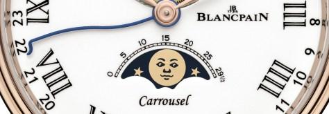 Blancpain Villeret Carrousel Phases de Lune detalle