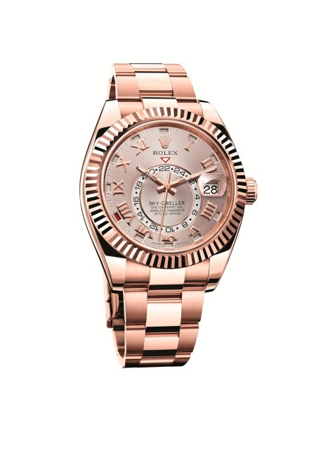 Rolex Oyster Perpetual Sky-Dweller Oro Everose