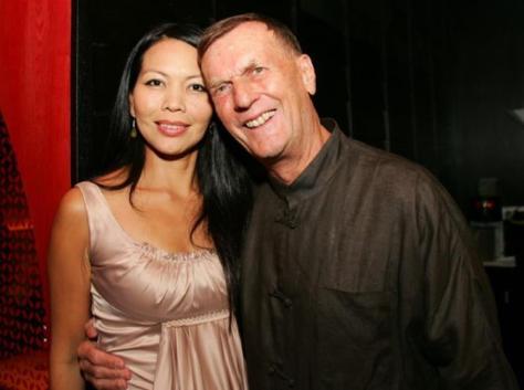 Chai Schnyder y su difunto marido, Rolf W. Schnyder