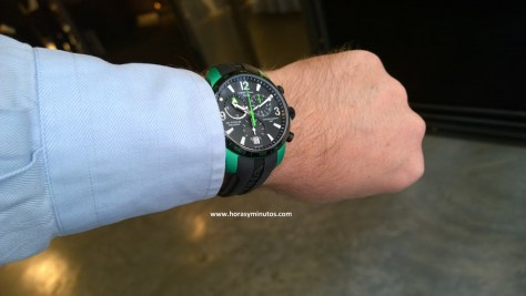DS Podium GMT Chronograph Aluminio