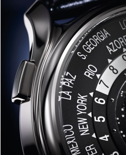 Patek Philippe World Time Moon 5575 pulsador
