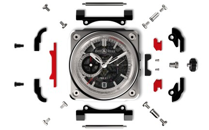 Bell & Ross BR-X1 Skeleton Chronograph despiece