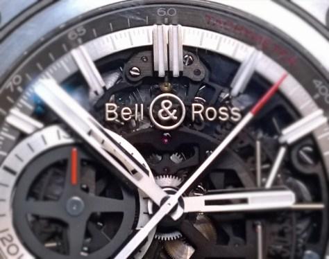 Bell & Ross BR-X1 Skeleton Chronograph detalle esfera