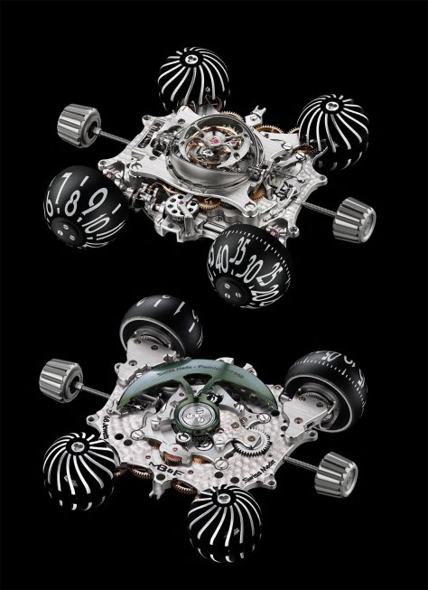 MB & F HM6 Space Pirate calibre