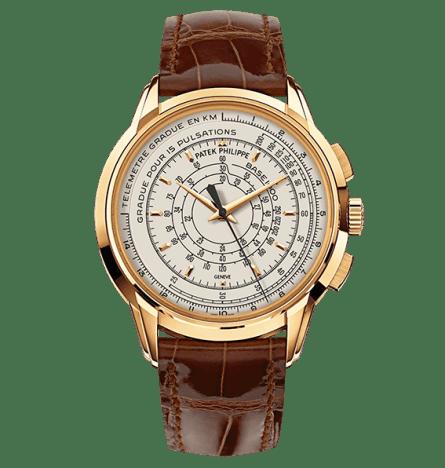 Multi Scale Chronograph oro amarillo