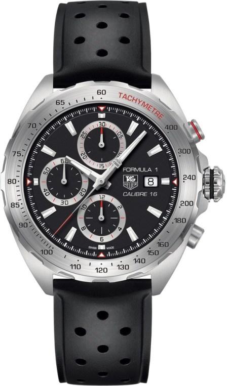 Tag Heuer Formula 1 Calibre 16 Automatik Chronograph correa negra