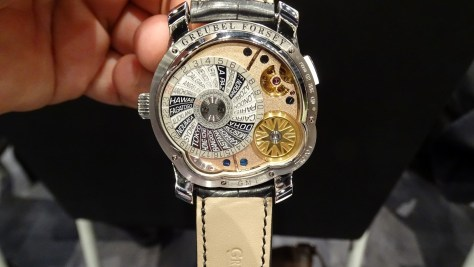 Greubel Forsey GMT 5N Movement - calibre