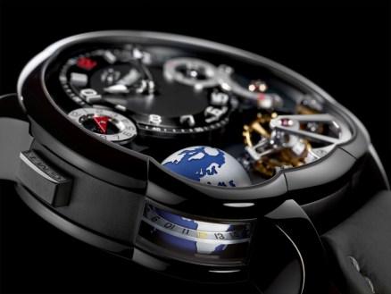 Greubel Forsey GMT Black detalle
