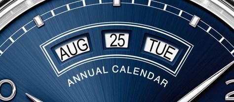 IWC Portugieser Annual Calendar 2015 detalle fecha
