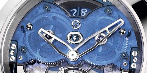 Ulysse Nardin Imperial Blue detalle superio