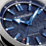 Pre-Baselworld: JEANRICHARD 39 mm en azul