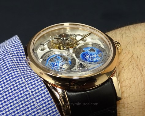 Montblanc Collection Villeret Tourbillon Cylindrique Geosphères Vasco da Gama perfil