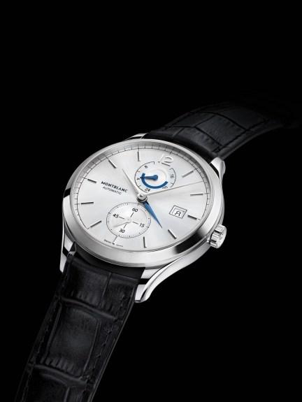 Montblanc Heritage Chronométrie Dual Time perfil