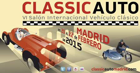 Cartel ClassicAuto Madrid