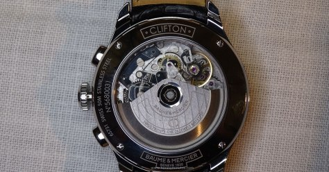 Baume & Mercier Clifton Chronograph calibre