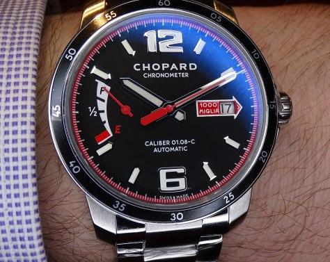 Chopard Mille Miglia GTS Power Control en la muñeca -brazalete