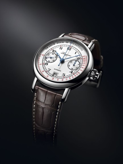 Longines Pulsometer Chronograph perfil