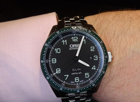 Oris Calobra Day Date frontal
